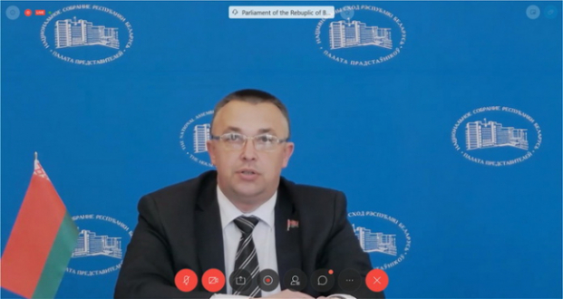 Участие в онлайн-семинаре Парламентской ассамблеи ОБСЕ на тему «COVID-19: поворотный момент в области охраны окружающей среды?» в формате видеоконференции.