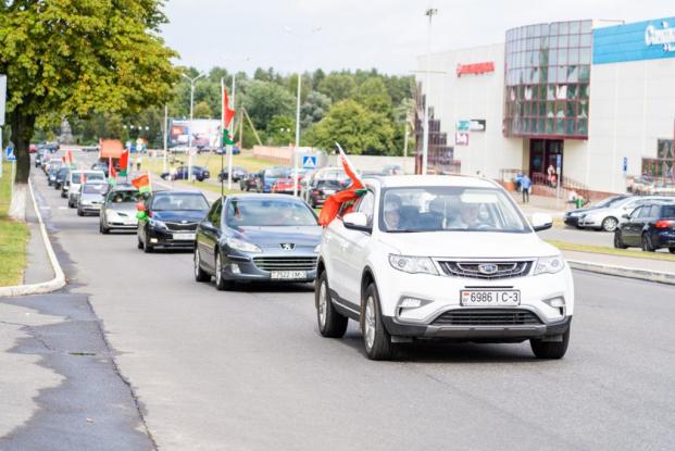 Автопробег «Беларусь мирная»